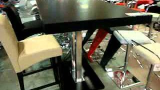 Bar Tables, Bar Furniture, Tobago-bar-table-with-4-chairs.mpg