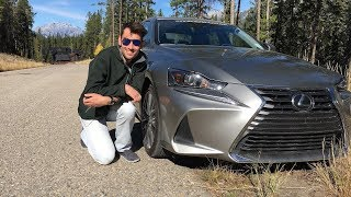 Lexus IS 300 AWD Review and Road Test Feat. TheDriveGuyde