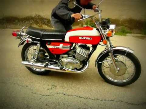 1972 Suzuki T350 Rebel - YouTube