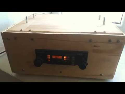 Plywood Car Radio Yugoslavia ( 80's)
