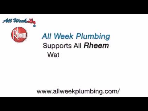 Rheem Water Heater Repairs NJ | 24/7 Plumber NJ (888) 333-2422