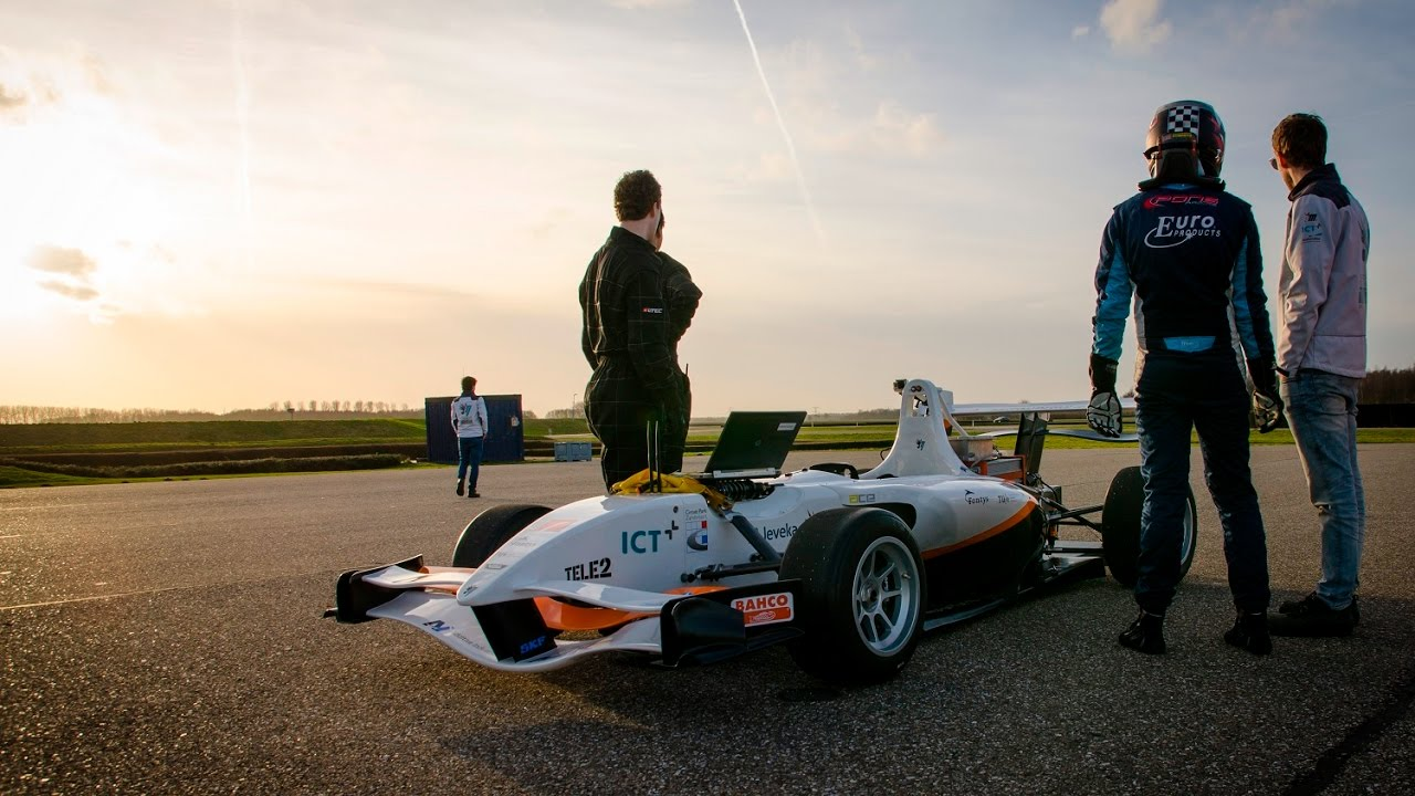 Putting its first mileage on the InMotion racecar - ICT