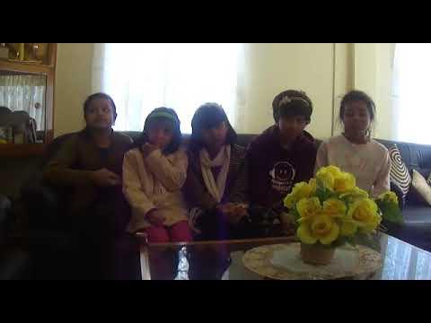 Khasi kids from Shillong Meghalaya singing pop mash up