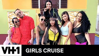 Lil' Kim, Chilli, Mya & the Girls Cruise Gang Visits Rihanna's Home in Barbados | Girls Cruise