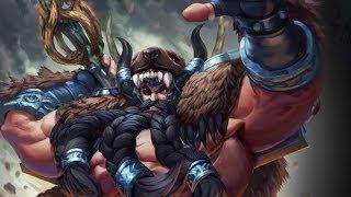 Smite - Reworked Odin Skin: Mountain Man