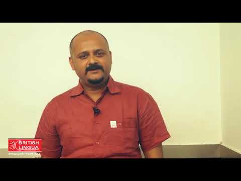 Media Person Ramakant Chaudhary, Speaks About British Lingua