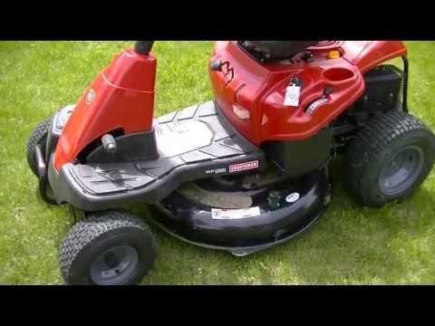 "Sears Craftsman / Troy Bilt 30"" Rear Engine Riding Mower Review"