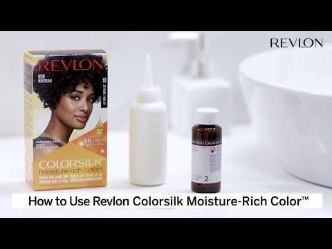 How To Use ColorSilk Moisture-Rich Color | Revlon