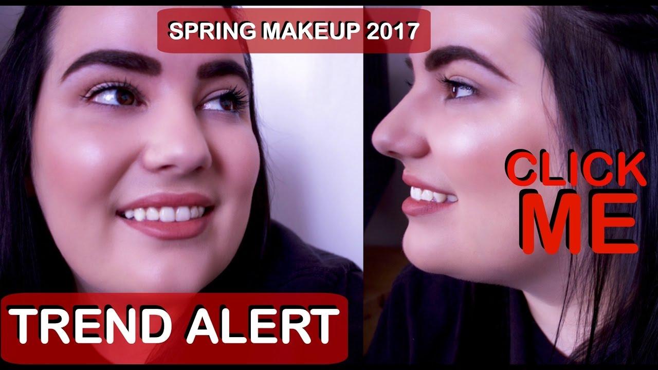 SPRING/SUMMER 2017 MAKEUP TRENDS   Easy Simple No Makeup Makeup ...