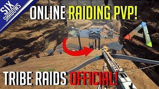ONLINE RAIDING FUN! | Tribe Raids Official PvP - Ark: Survival Evolved