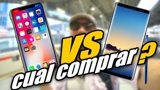 iPhone X  vs Samsung Galaxy Note 8 | Vlog en JAPON [By JAPANISTECH]