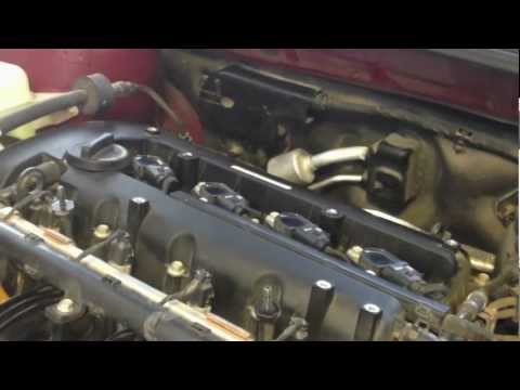 Spark Plug Check Replacement Hyundai Sonata 2011 2 0t S