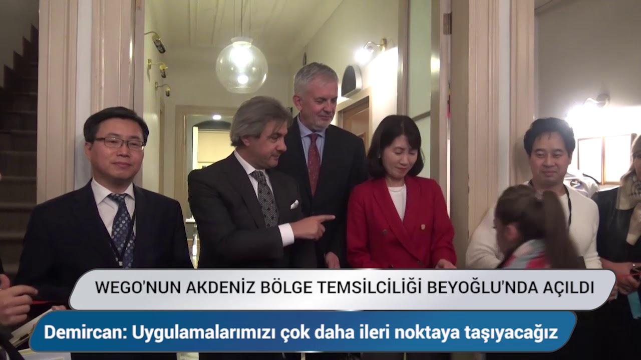 WeGO' nun Akdeniz Bölge Temsilciği Beyoğlu'nda açıldı