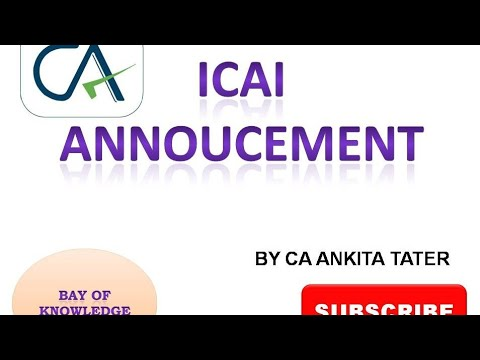 ICAI Announcement Ll MOCK TEST PAPER RELEASED FOR CA FOUNDATION, INTERMEDIATE/IPCC,FINAL(OLD&NEW)