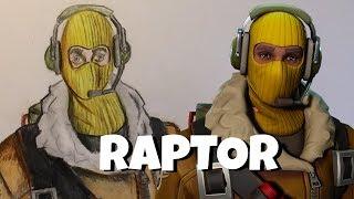 Drawing Raptor   Drawing Fortnite skins #2