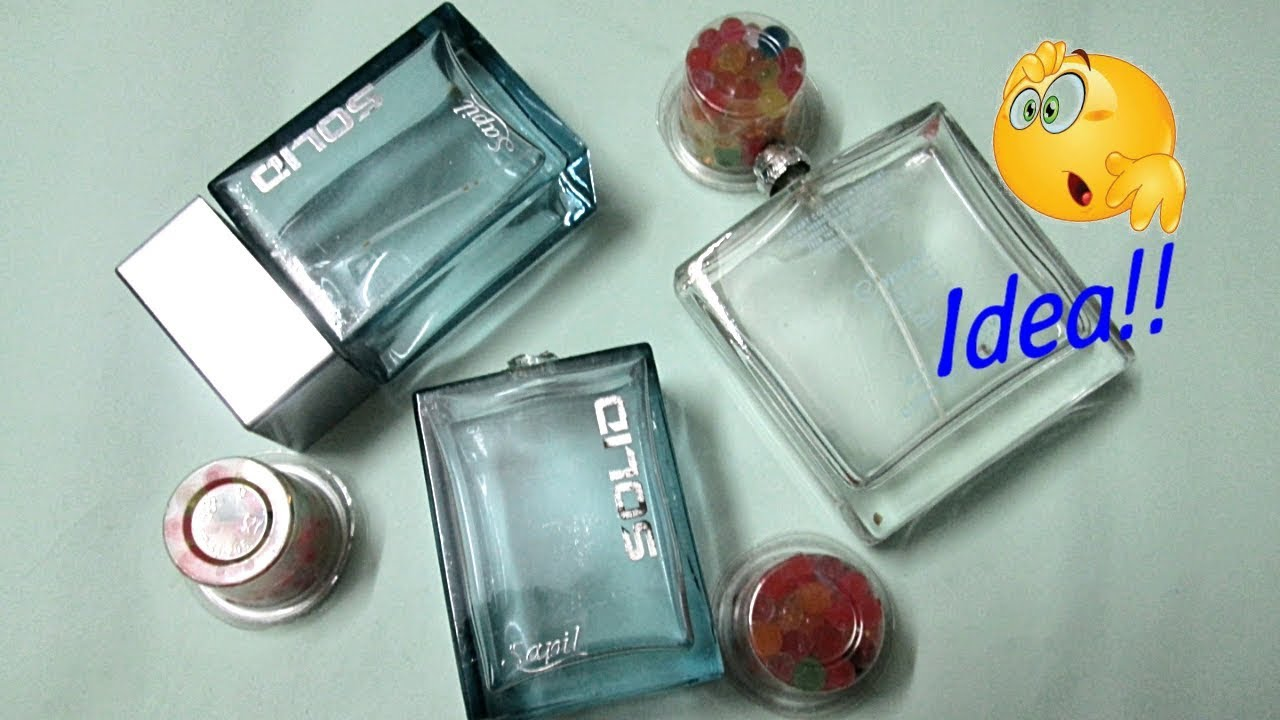 Best Craft Of Perfume Bottles Waste Material Craft Easy And Simple