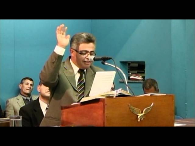18.05.2012 - Encontro Regional de Pastores em Campinas/SP - Pr. Marcos Elias