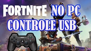 Play Fortnite on USB control Generico PC