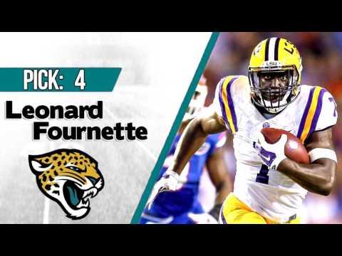 JACKSONVILLE JAGUARS SELECT LEONARD FOURNETTE 4TH OVERALL | 2017 NFL DRAFT