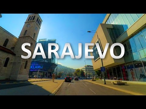 Hip-Hop & Rap music while driving through Sarajevo