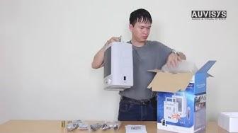 Video mở hộp hướng dẫn lắp đặt và sử dụng sản phẩm máy trợ giảng Auvysis AM-451