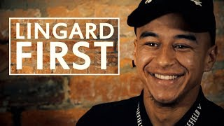 Who was Jesse Lingard's first hero? | First