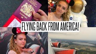 VLOG: FLYING BACK FROM AMERICA!