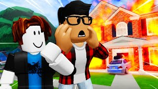 He Adopted A Noob! A Roblox Movie (Story)