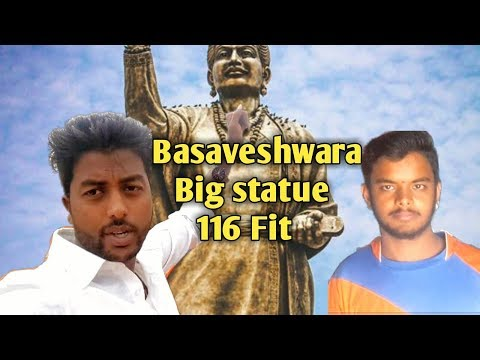 Journeys across karnataka basaveshwara big stute 116 fit at gadag