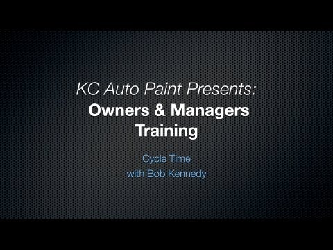 Body Shop Owners & Managers Training