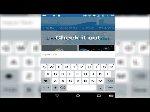 How To Get A IPhone 7 Keyboard For Android NO ROOT