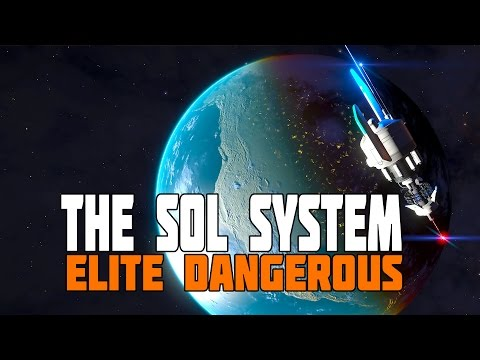 Elite Dangerous - Update in The Sol System - Patch 2.2