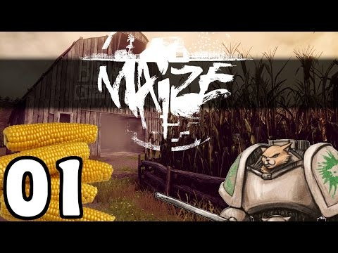 Maize - Corn Maze Strangeness - Let's Play Maize Part 1