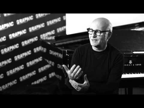 Ludovico Einaudi at GRAPHIC 2013 - Interview