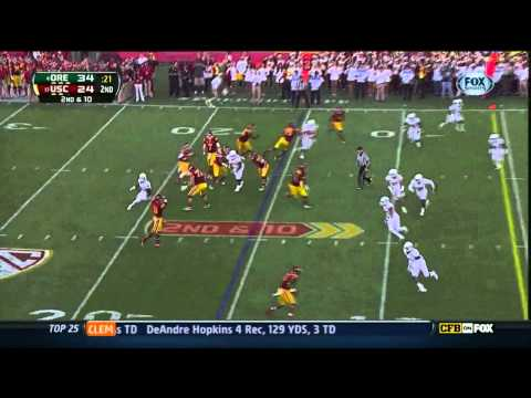 Matt Barkley vs Oregon 2012
