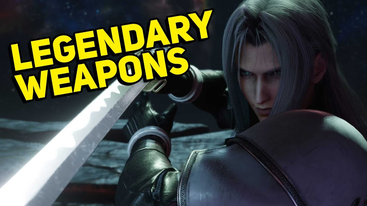 7 Weapons That Became Legendary