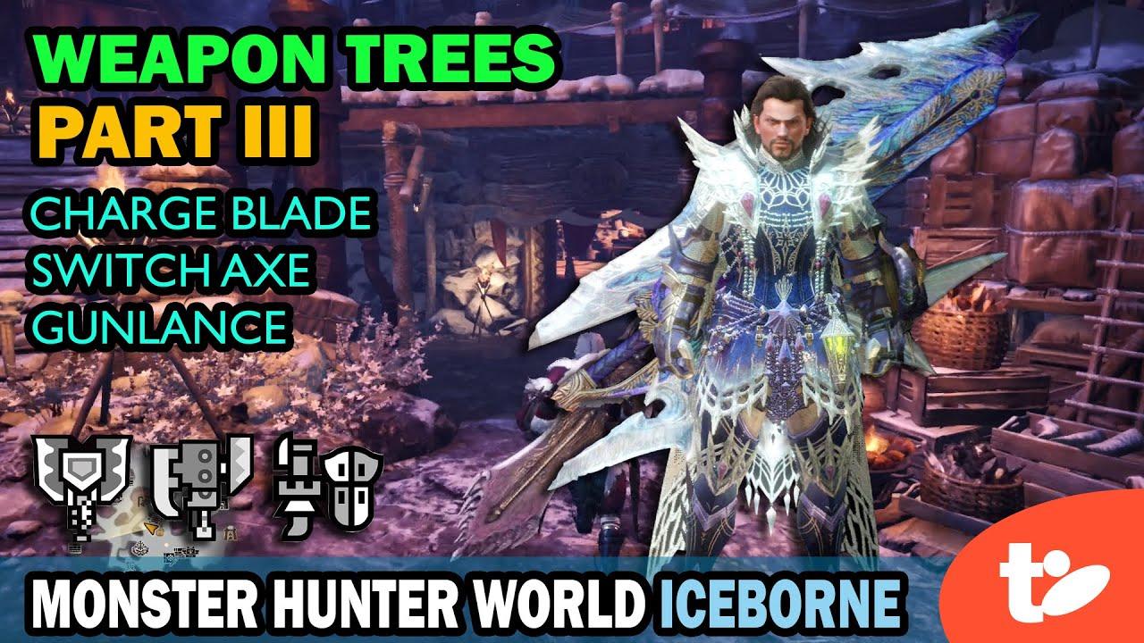 monster hunter world weapons tree