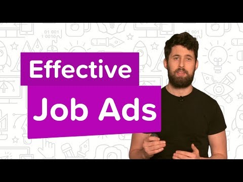 How to write effective job ads | Job Advertising