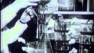 Fleming, Florey and Chain and the discovery of penicillin.  Film 15072