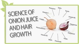 Science of ONION JUICE and hair growth