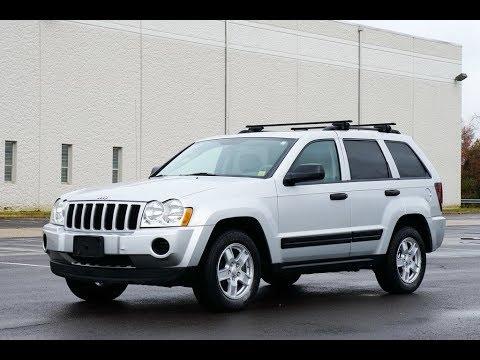 2005 Jeep Grand Cherokee Laredo 4WD Silver