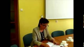 Posiedzenie Komisji 2014 06 23   Sprawozdanie Dyrektor ZS w Jezioranach