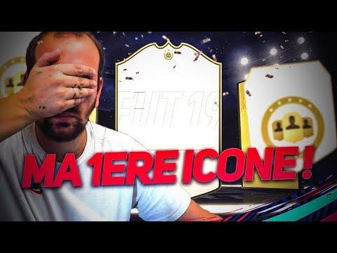 FIFA 19 - JE PACK MA 1ère ICONE !! MON MEILLEUR PACK OPENING CETTE ANNÉE !!