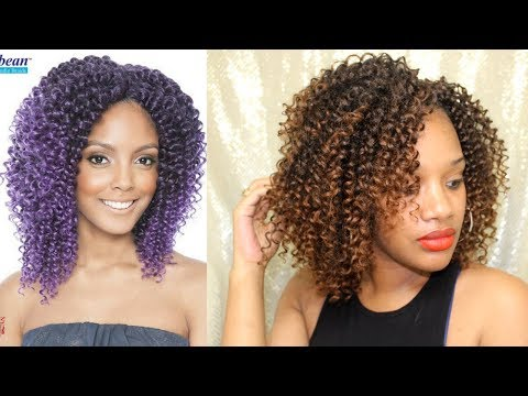 REVIEW AFRI NAPTURAL CARIBBEAN WATER WAVE CROCHET BRAIDS