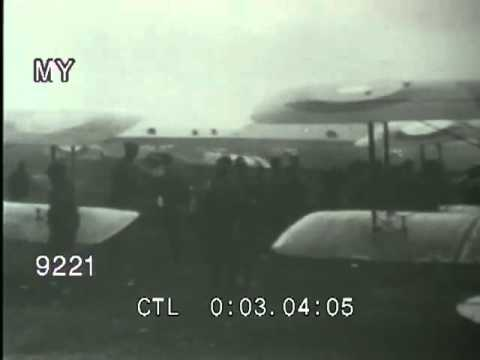 Stock Footage - WWI - THE BATTLE IN THE AIR - BIPLANES AND BALLOONS