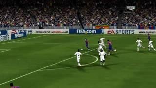 FIFA 10 - Barcelona vs Real Madrid [El Clasico - HD] Match