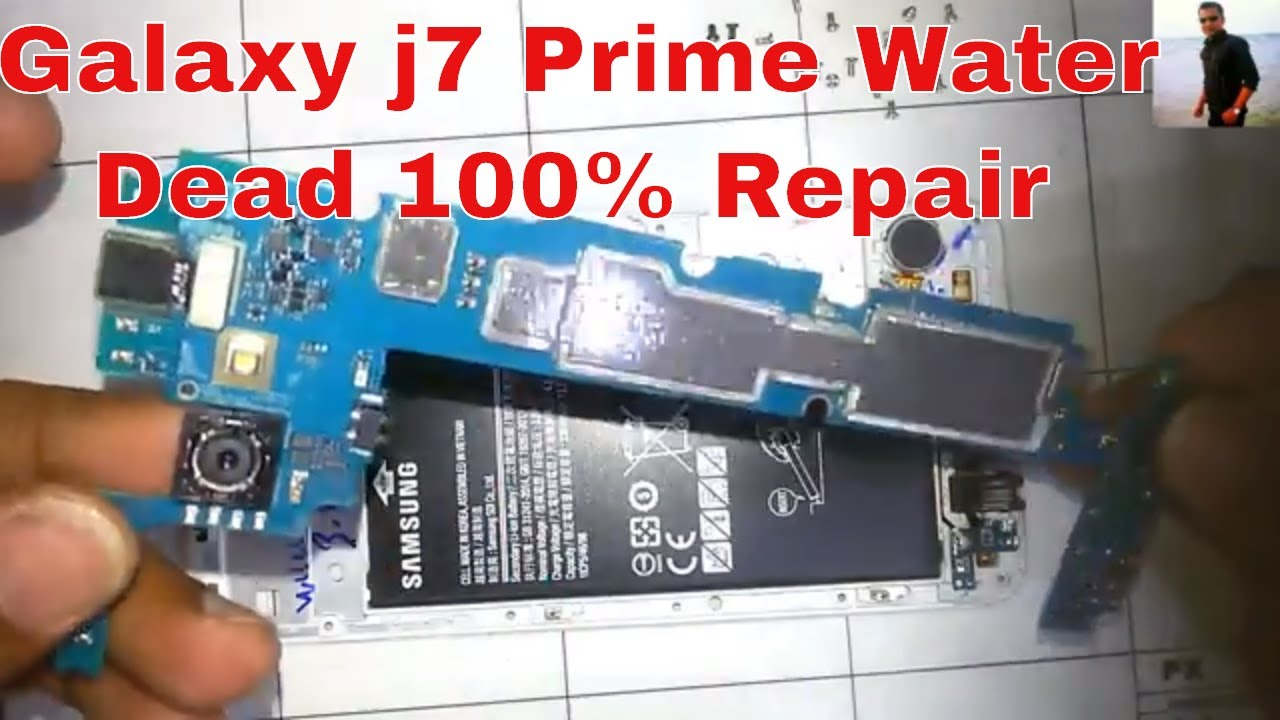 How To Fix Samsung Galaxy J7 Prime G610f Water Damage