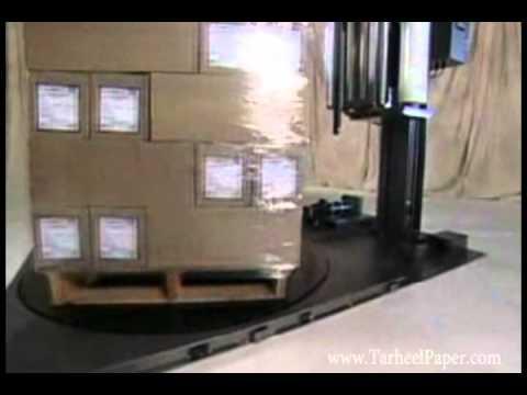 Cousins MC A-Arm Series Stretch Film/Wrap Machines