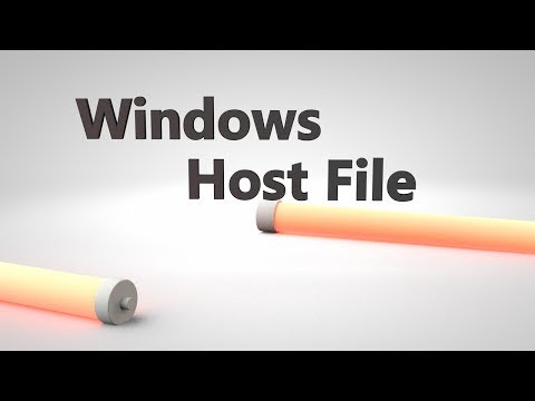 How To Edit The Windows 7/8/VISTA Hosts File In Administrator Mode