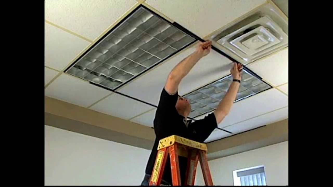 Gridmax Ceiling Grid Cover Installation Youtube